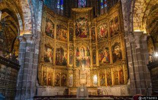 Retablo - Catedral de Ávila