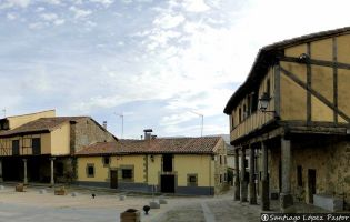 Plaza Mayor de Bonilla de la Sierra