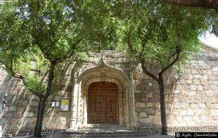 Portada Iglesia de Candeleda