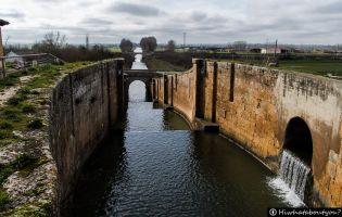 Esclusa del canal de Castilla - Frómista