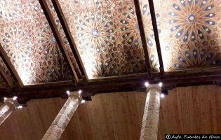 Artesonado - Iglesia Fuentes de Nava