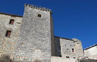 Detalle de la muralla sur - Haza