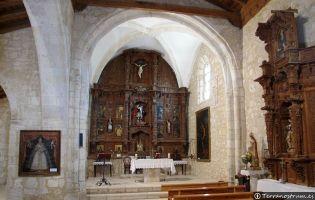 Interior Iglesia de Haza