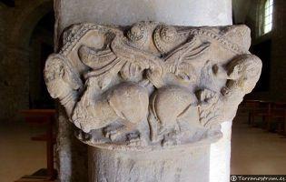 Detalle capitel del siglo XII - Haza