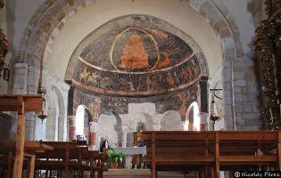 Pinturas Iglesia de Santa Marina - Sacramenia