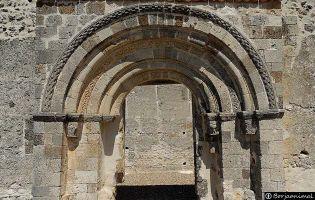 Portada Ermita de San Miguel - Sacramenia