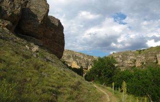 Formaciones geológicas - El Fraile y Las Monjas - Segovia