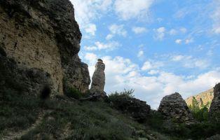 'El Fraile caga dulce' - Valle de Tabladillo - Senderismo Segovia