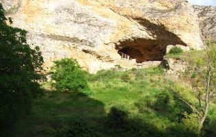 Tenada para el ganado - Cañón del Fraile - Valle de Tabladillo - Castroserracín