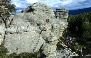 Vía Ferrata Cuerda la Graja - Duruelo de la Sierra
