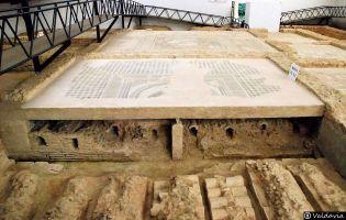 Hipocaustum - Villa romana de Tejada