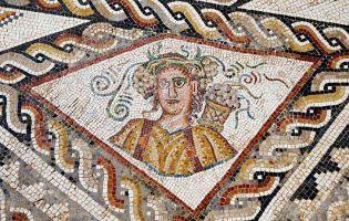 Mosaico de las Cuatro Estaciones - Villa romana de Tejada