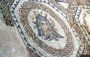 Mosaico de Neptuno - Villa romana de Tejada