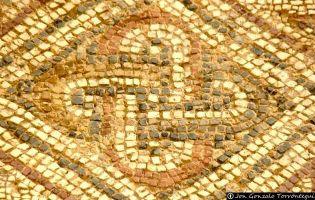 Nudo de Salomón - Villa romana de Tejada