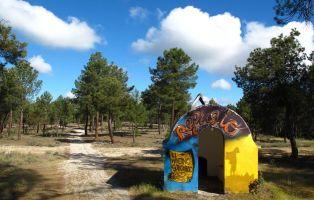 Caseta de resineros - Sendero Manzano - Sotocivieco