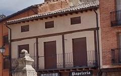 Fuente o Caño - Plaza Mayor de Ayllón - Conjunto Histórico Artístico - Segovia