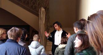 Visita teatralizada castillo de la Mota