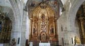 Altar Mayor recientemente restaurado - Iglesia de Vadocondes