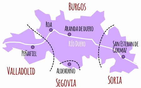 Mapa Do RieberadelDuero1