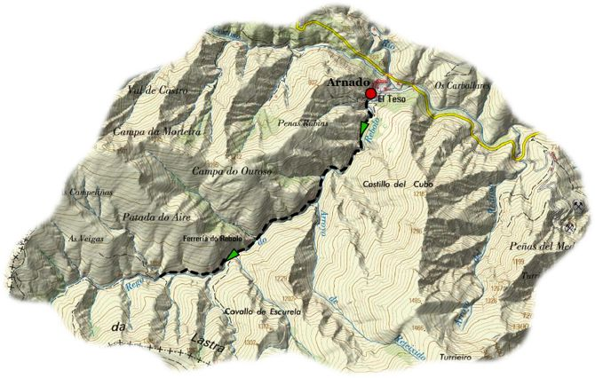 Ornit Arroyo Rebolo map
