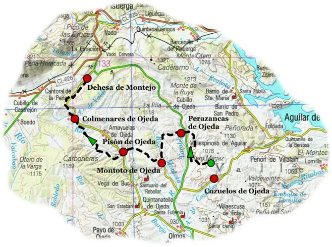 Ruta carbon cok variante 2 map